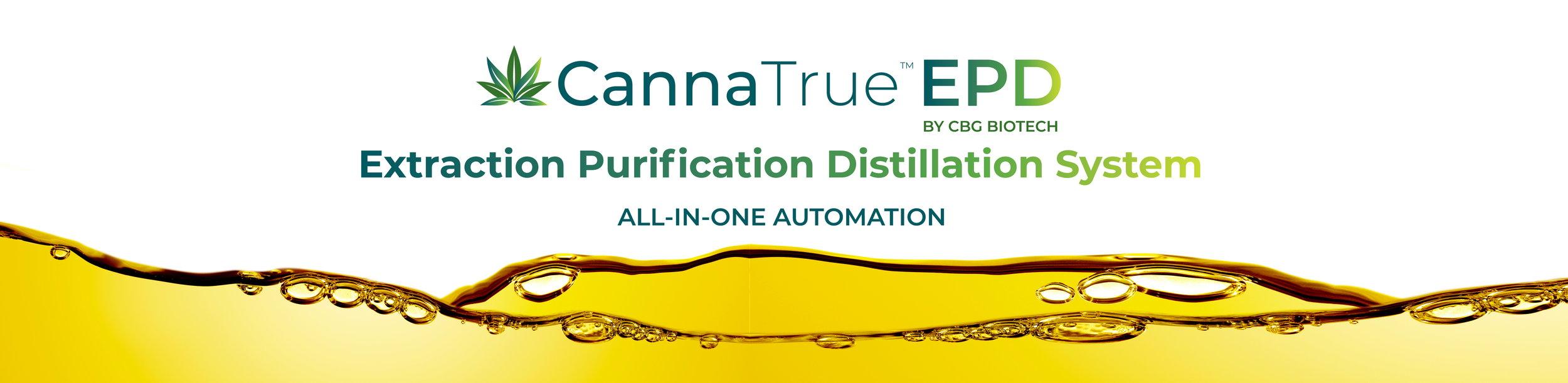 CannaTrue™ EPD System by CBG Biotech