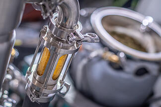 Ethanol extraction systems for extracting cannabis oil