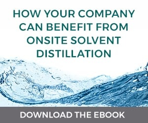 how your company can benefit from onsite solvent distillation