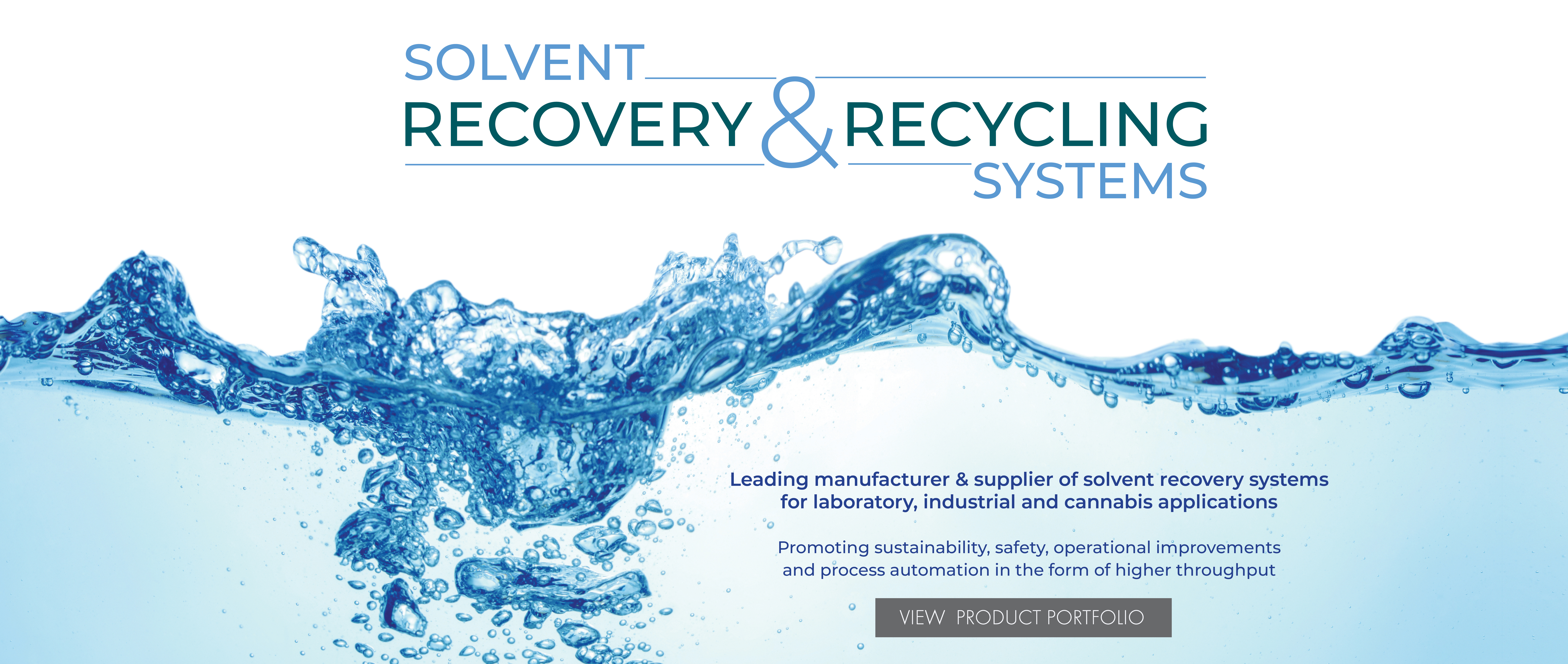 Solvent Recovery & Recycling Systems